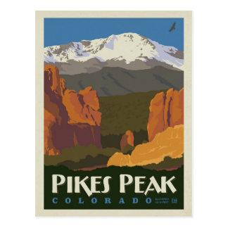 Carte Postale Crête de brochets, le Colorado