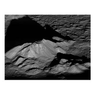 Carte Postale Crête de central de cratère de Tycho de la lune de