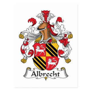 Carte Postale Crête de famille d'Albrecht