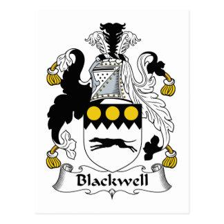 Carte Postale Crête de famille de Blackwell
