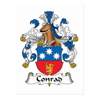 Carte Postale Crête de famille de Conrad