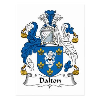 Carte Postale Crête de famille de Dalton
