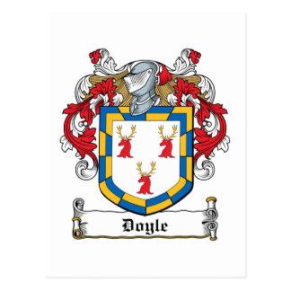Carte Postale Crête de famille de Doyle