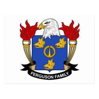 Carte Postale Crête de famille de Ferguson