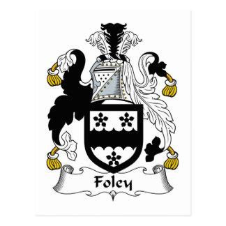 Carte Postale Crête de famille de Foley