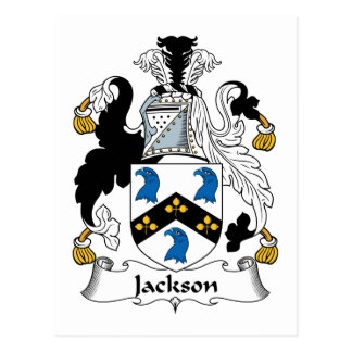 Carte Postale Crête de famille de Jackson