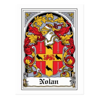 Carte Postale Crête de famille de Nolan