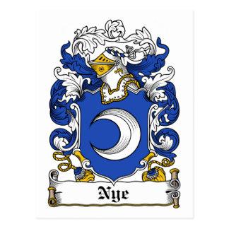 Carte Postale Crête de famille de Nye