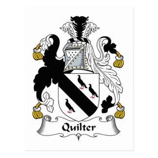 Carte Postale Crête de famille de Quilter