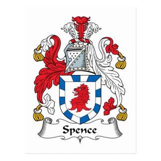 Carte Postale Crête de famille de Spence