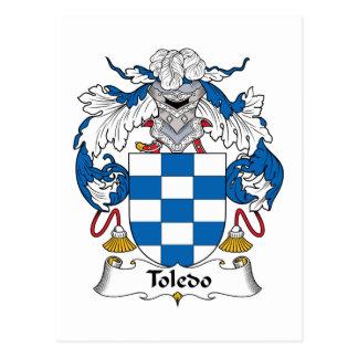 Carte Postale Crête de famille de Toledo