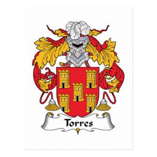 Carte Postale Crête de famille de Torres