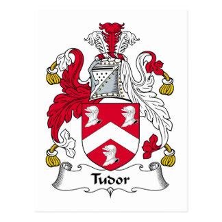 Carte Postale Crête de famille de Tudor