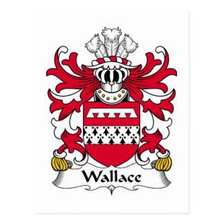 Carte Postale Crête de famille de Wallace