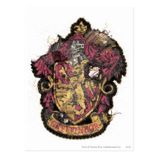 Carte Postale Crête de Gryffindor - détruite