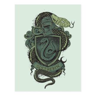 Carte Postale Crête de Harry Potter   Slytherin
