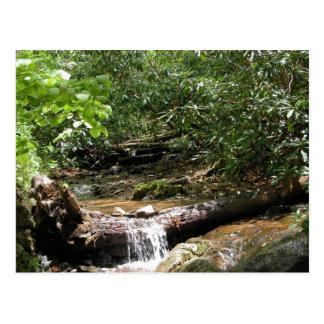 Carte Postale Crique de montagne de Ridge bleu