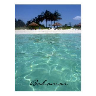 Carte Postale cristal - Bahamas claires