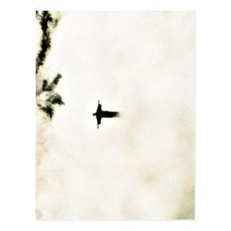 Carte Postale Cristo Redentor dans les nuages