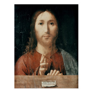 Carte Postale Cristo Salvator Mundi, 1465