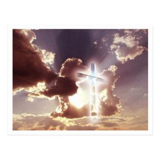 carte postale croisée de ciel