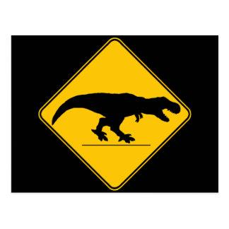 Carte Postale Croisement de rex de Tyrannosaurus