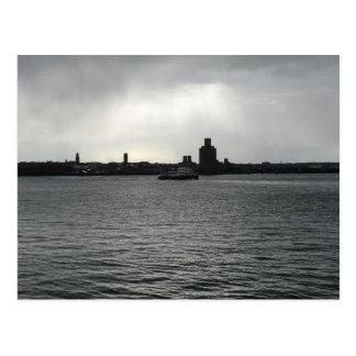 Carte Postale Croix de ferry le Mersey