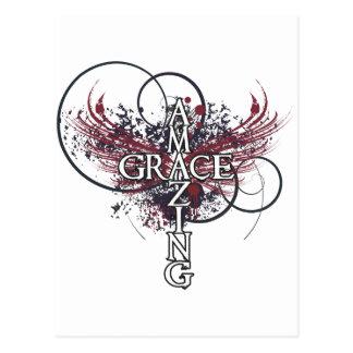 Carte Postale Croix extraordinaire de chrétien de grâce
