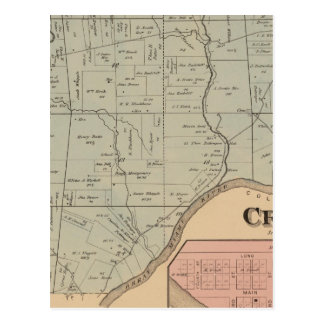 Carte Postale Crosby, Ohio