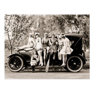 Carte Postale Cru 1918 de filles de Mack Sennett