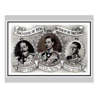 Carte Postale Cru 1936 l'année des trois rois