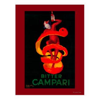 Carte Postale Cru amer PosterEurope de Campari
