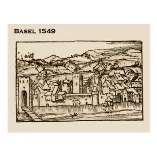 Carte Postale Cru, Bâle, Suisse, Suisse, 1549, vue