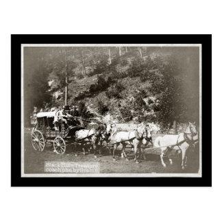 Carte Postale Cru de car de trésor de Black Hills