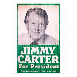 Carte Postale Cru de Jimmy Carter