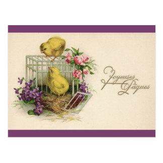 Carte Postale Cru de Joyeuses Paques (Joyeuses Pâques)