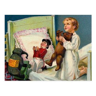 """Carte Postale Cru """"de matin de Noël"""""""