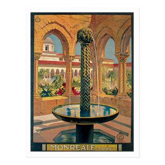 Carte Postale Cru de Monreale Palerme Italie
