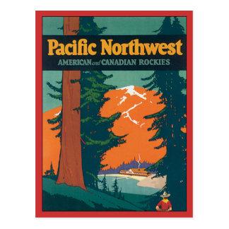 Carte Postale Cru du nord-ouest Pacifique