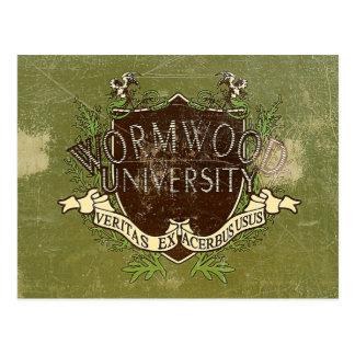 Carte Postale Cru d'université d'absinthe