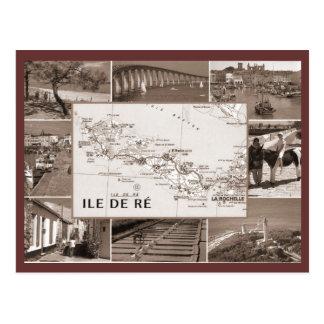 Carte Postale Cru, Ile de Re