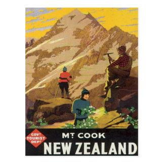 Carte Postale Cru Mt.Cook Nouvelle Zélande