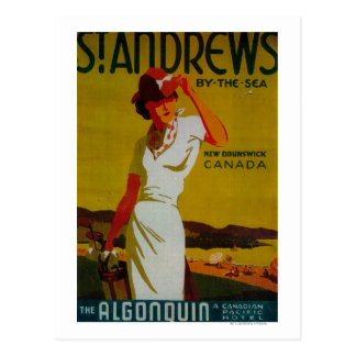 Carte Postale Cru PosterEurope d'algonquin de Saint Andrews