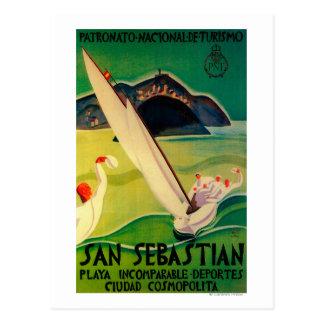Carte Postale Cru PosterEurope de San Sebastian