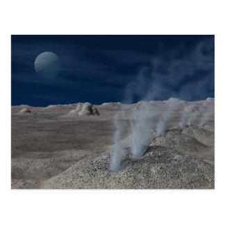 Carte Postale Cryovolcanism sur Pluton