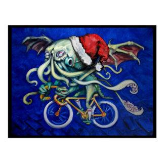Carte Postale Cthulhu pour Noël
