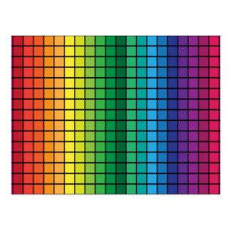 Carte Postale Cubes en spectre