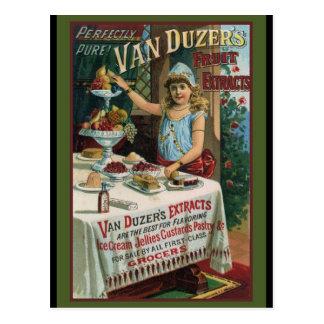 Carte Postale Cuisson de cuisine d'extrait de fruit