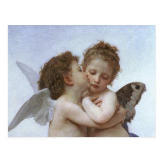 Carte Postale Cupidon et psyché comme Babys