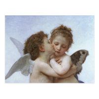 Cupidon et Psyché comme bébé